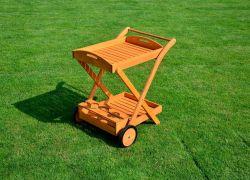 SERVÍROVACÍ STOLEK Rojaplast - vše pro venkovní posezení na zahradě a na terase