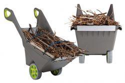 vozík REALBARROW - 100L Keter - vše pro venkovní posezení na zahradě a na terase