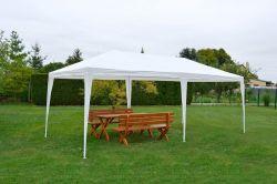 Altán 3602-PE - bílý Rojaplast - vše pro venkovní posezení na zahradě a na terase