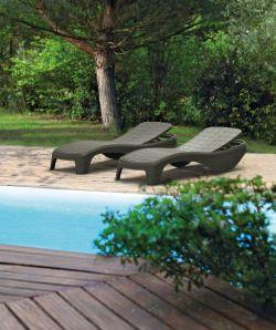 ATLANTIC lehátko - antracit Keter - vše pro venkovní posezení na zahradě a na terase