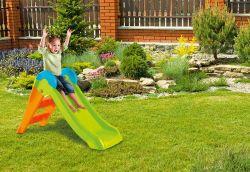 BOOGIE skluzavka - zelená/oranžová Keter - vše pro venkovní posezení na zahradě a na terase