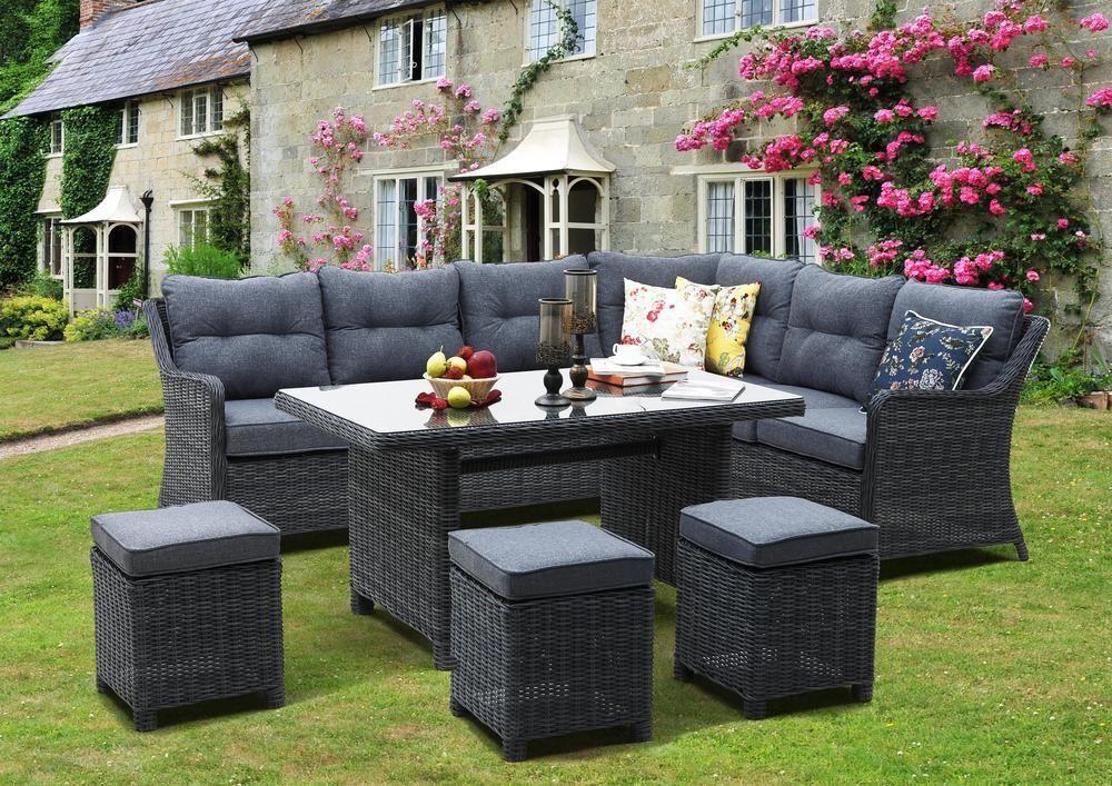 DALLAS souprava ratanový nábytek Rojaplast - vše pro venkovní posezení na zahradě a na terase