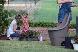 EASY GO BREEZE 50L - hnědý Keter - vše pro venkovní posezení na zahradě a na terase