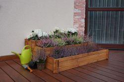 Květináč ZAHRÁDKA kaskáda Rojaplast - vše pro venkovní posezení na zahradě a na terase
