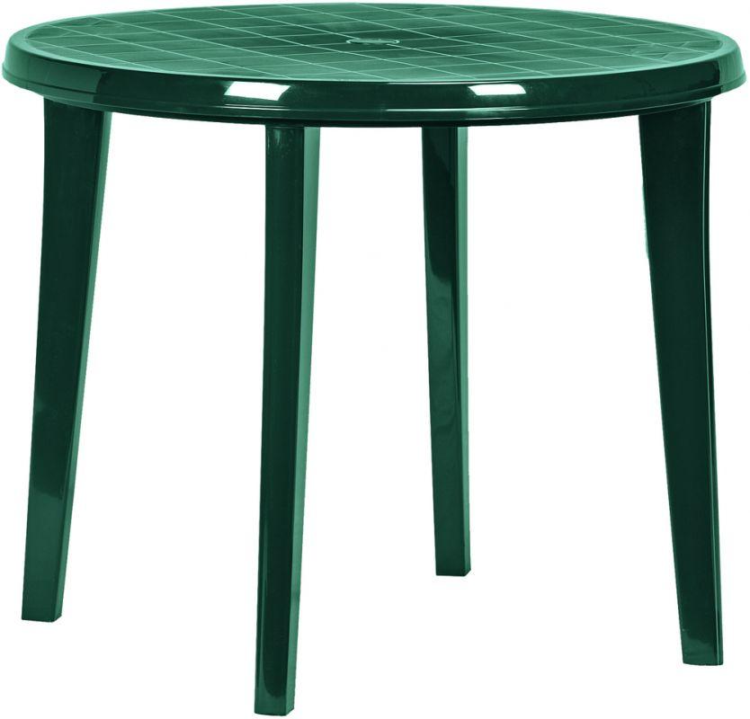 LISA stůl - tmavě zelená Allibert - vše pro venkovní posezení na zahradě a na terase