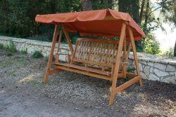 LUISA houpačka - FSC Rojaplast - vše pro venkovní posezení na zahradě a na terase