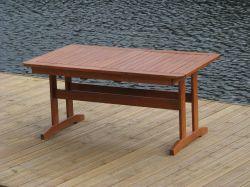 LUISA stůl - FSC Rojaplast - vše pro venkovní posezení na zahradě a na terase