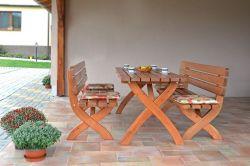 STRONG lavice MASIV - 160cm Rojaplast - vše pro venkovní posezení na zahradě a na terase
