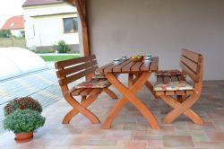 STRONG stůl MASIV - 160 cm Rojaplast - vše pro venkovní posezení na zahradě a na terase