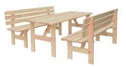 VIKING lavice - 200 cm Rojaplast - vše pro venkovní posezení na zahradě a na terase