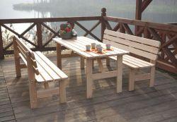 VIKING stůl - 200 cm Rojaplast - vše pro venkovní posezení na zahradě a na terase