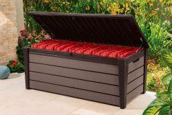 BRUSHWOOD box - 455L - hnědý Keter - vše pro venkovní posezení na zahradě a na terase