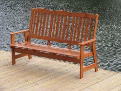 LUISA lavice Rojaplast - vše pro venkovní posezení na zahradě a na terase