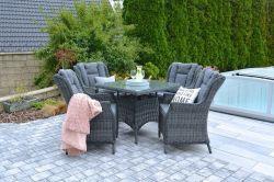 REGINA souprava Rojaplast - vše pro venkovní posezení na zahradě a na terase
