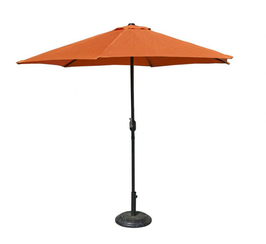 Slunečník XT4013 - ø300cm terracota Rojaplast - vše pro venkovní posezení na zahradě a na terase