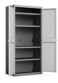 LOGICO HIGH XL skříňka Keter - vše pro venkovní posezení na zahradě a na terase