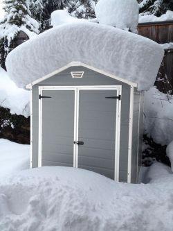MANOR domek 6x5DD Keter - vše pro venkovní posezení na zahradě a na terase