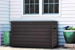 ONTARIO box 870l - antracit Keter - vše pro venkovní posezení na zahradě a na terase