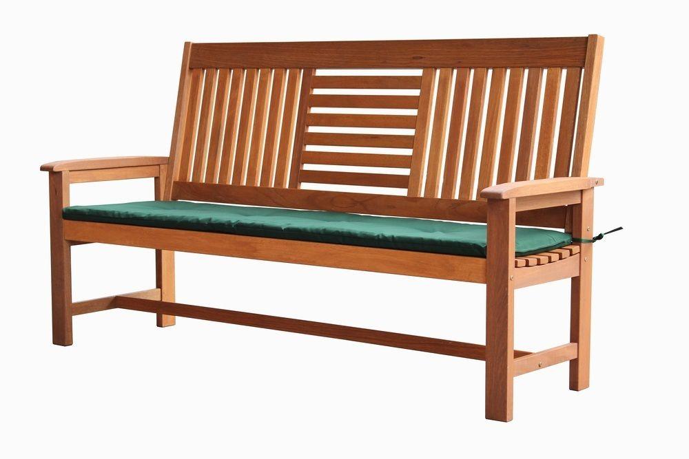 SEREMBAN lavice s poduškou Rojaplast - vše pro venkovní posezení na zahradě a na terase