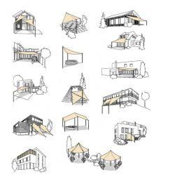 Stínící plachta ČTVEREC 3,6m Rojaplast - vše pro venkovní posezení na zahradě a na terase