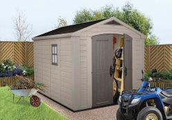 FACTOR domek 8x11 Keter - vše pro venkovní posezení na zahradě a na terase