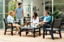 MONTERO set Keter - vše pro venkovní posezení na zahradě a na terase