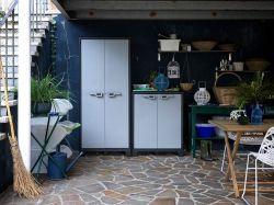 TITAN LOW skříňka Keter - vše pro venkovní posezení na zahradě a na terase