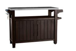 UNITY XL 207L stůl hnědý Keter - vše pro venkovní posezení na zahradě a na terase